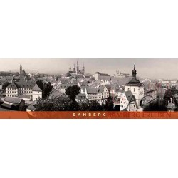 Bamberg - Stadtpanorame s/w...