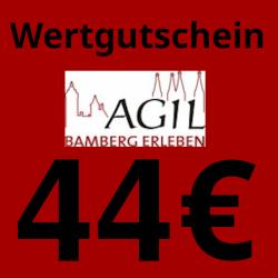 Wertgutschein 44€