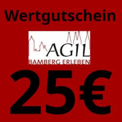 Wertgutschein 25€