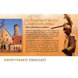 Altenburgführung:Gutschein...